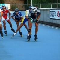 Campionato italiano pista a Forlì 3 posto nalla 500 m