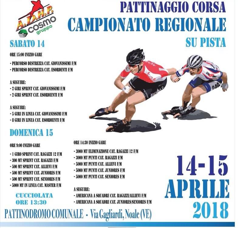Pattinaggio Campionato Regionale su Pista